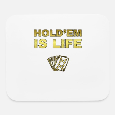 Hold'em Poker Shirt Texas Holdem - Mouse Pad