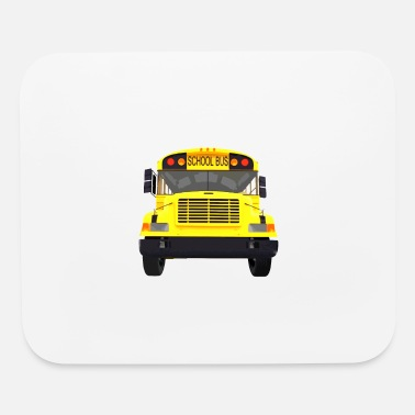 Drive Go By Car i drive a school bus and car studen drive car bus - Mouse Pad