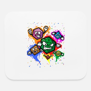 Role Playing Game RPG DICES Role Playing Game Fantasy Tabletop - Mouse Pad
