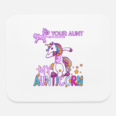Bae My Aunt is Best Dabbing Unicorn for Nieces - Mouse Pad