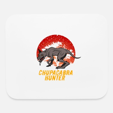 Yeti Chupacabra Hide Seek Hunter Mexico Creature gift - Mouse Pad