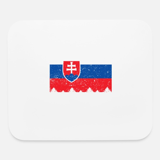 Slovakia Mouse Pads - This is my Slovakia Costume Halloween T-Shirt - Mouse Pad white
