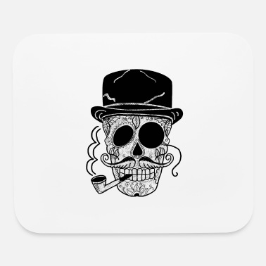 Gangster Boss Skull - Mouse Pad