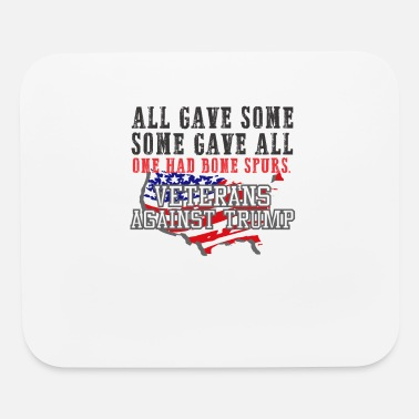 2020 US flag VETERANS AGAINST TRUMP Anti Trump 2020 - Mouse Pad