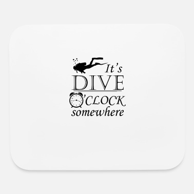 Dive Diving - Mouse Pad