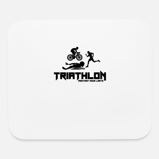 Triathlon Mouse Pads - Triathlon - Mouse Pad white