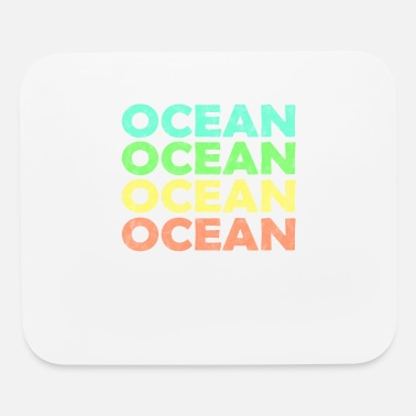 Atlantic OZEAN VINTAGE Retro BUNT Sea, Atlantic gift - Mouse Pad