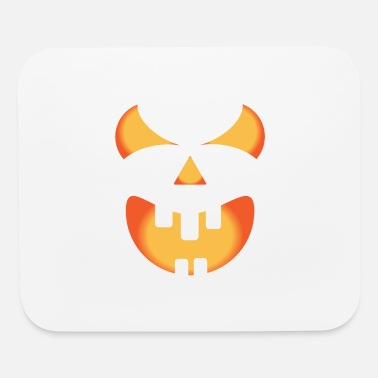 Father And Son Halloween pumpkin face - Mouse Pad