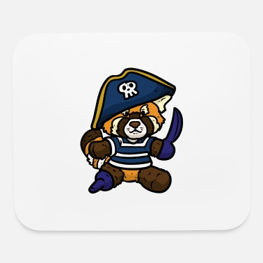 Pirate Flag pirate idea child buccaneer corsar gift - Mouse Pad