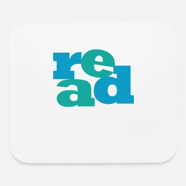 Read READ! Reading educates! - Mouse Pad