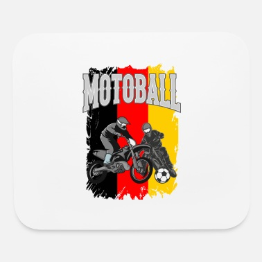 Bikers Motoball Germany Dirt Bike Gifts For Bikers - Mouse Pad