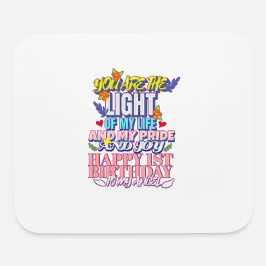 Birthday Saying Birthday Saying Congratulate You are the light - Mouse Pad