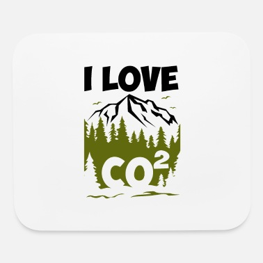 Fridays For Future I love CO2 Anti Fridays for Future FFF - Mouse Pad