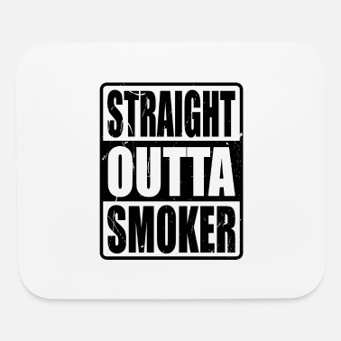 Apparel STRAIGHT OUTTA SMOKER BBQ Grilling Gifts For Dad - Mouse Pad