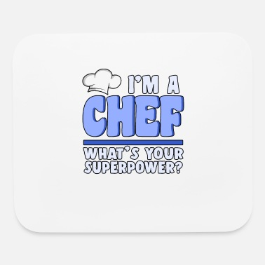 Gourmet I'm a chef cook cooking food grill bbq present - Mouse Pad