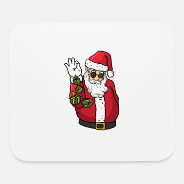 Grinch Santa Bae I Christmas Gift I Ugly Sweater - Mouse Pad