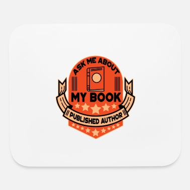 Book book author book books gift - Mouse Pad