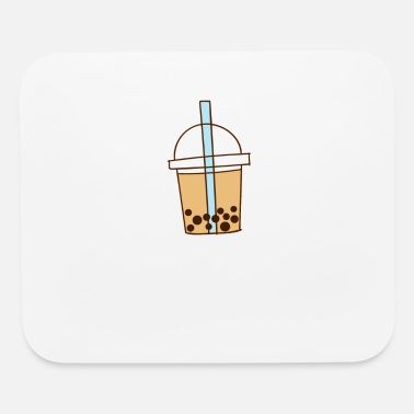 Speech Balloon Easily Distracted By Bubble Tea - Mouse Pad
