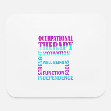 Occupation Womens Occupational Therapist Print Occupational - Mouse Pad
