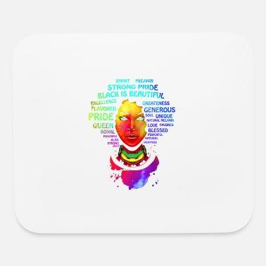 Afro Afro Educated Black Queen - Mouse Pad