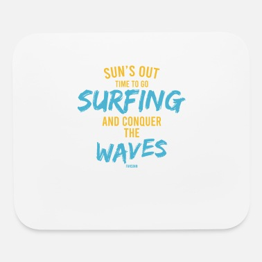 Tourist Summer sea Sun beach holiday gift - Mouse Pad