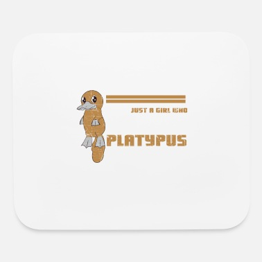 Mammal Just A Girl Who Loves Platypus - Mouse Pad