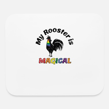 Parade Gay Pride Parade Magical Rooster Funny LGBTQ - Mouse Pad