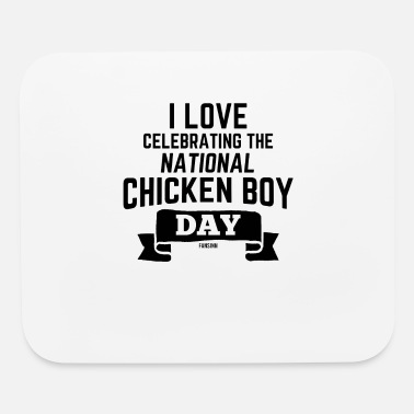 Rooster National Chicken Boy Day California - Mouse Pad