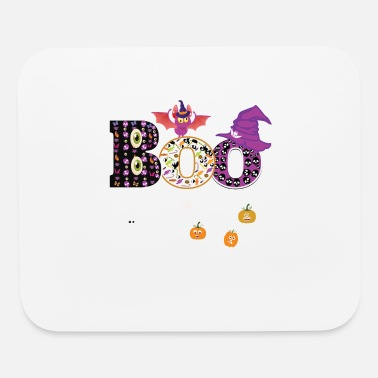 Pumpkin Boo Halloween Costume Ghosts, Pumkin - Mouse Pad