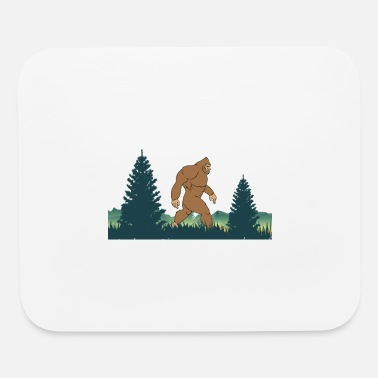 Ape Bigfoot-Saw Me But Nobody Believes Him - Mouse Pad