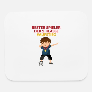Start Dabbing soccer boy advancement 1 class back to sch - Mouse Pad