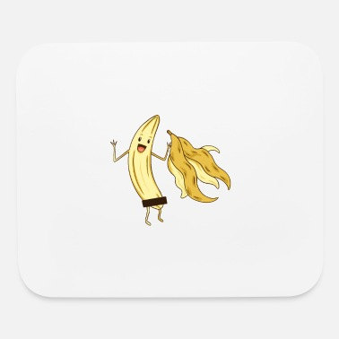 Raw Food Diet Naked Banana, Funny Adult Memes Fruity Fruit - Mouse Pad
