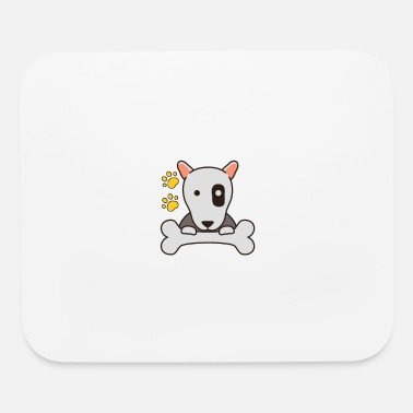 Zombie Love dog - Mouse Pad