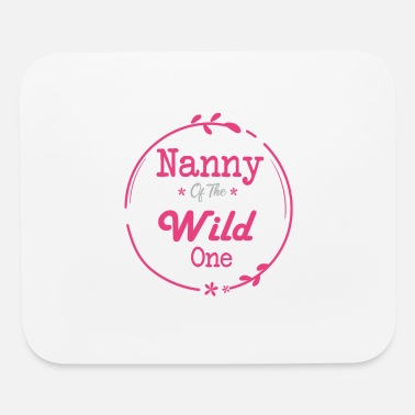 Wild Horse nanny of the Wild One - Mouse Pad