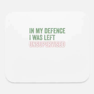 Defence In My Defence - Mouse Pad