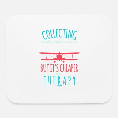 Model Airplane Model airplane therapy - Mouse Pad