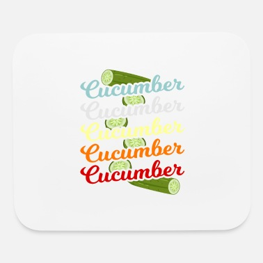 Cucumber Cucumber Green Vegetable Gift - Mouse Pad