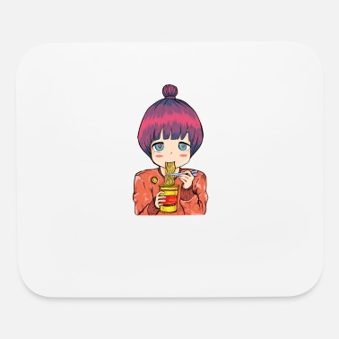 Convention Anime Manga Cosplay Ramen Japan Sushi Gift - Mouse Pad