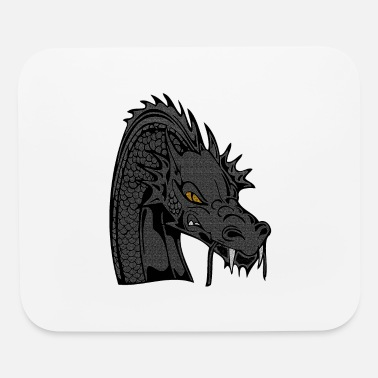 Animal Lover Dragon, dragon head, animal, animal lovers - Mouse Pad