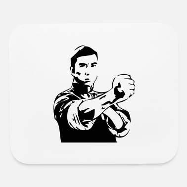 Karate karate - Mouse Pad