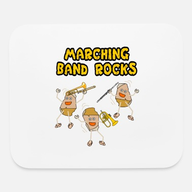 Band Supporter Marching Band Rocks Light - Mouse Pad