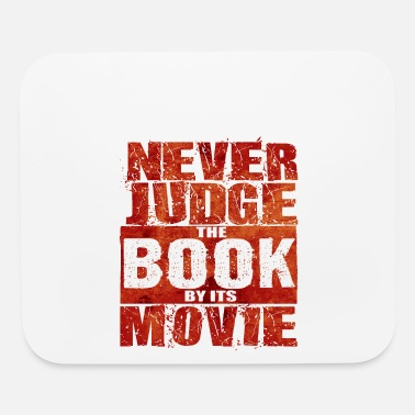 Television Never Judge The Book - Total Basics - Mouse Pad