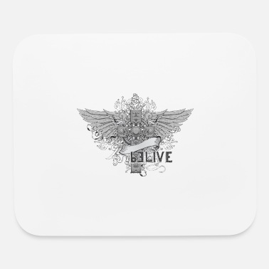 Wings Cross Cross and wings - Mouse Pad