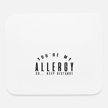 Allergy allergy - Mouse Pad