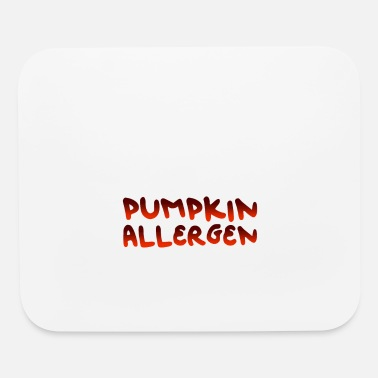 Allergy Pumpkin allergy - Mouse Pad