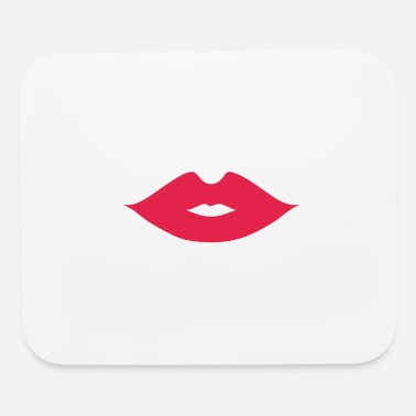 Kissing Lips Kissing Lips - Mouse Pad