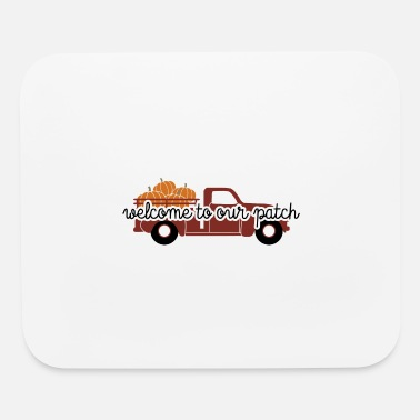 Pumpkin Spice Welcome To Our Patch Sign Fall Autumn - Mouse Pad