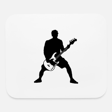 Bass Player bass player - Mouse Pad