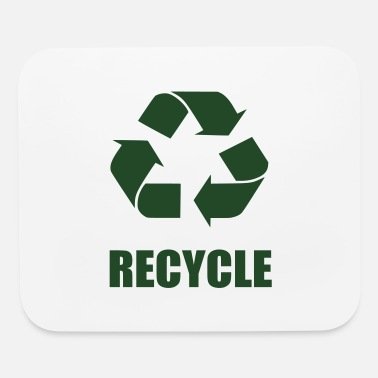 recycle logo - Mouse Pad