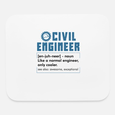 Civil Engineering CIVIL ENGINEERING: Civil Engineer Definition - Mouse Pad